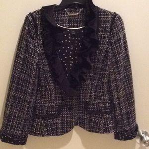 Jackets & Blazers - Black/white blazer